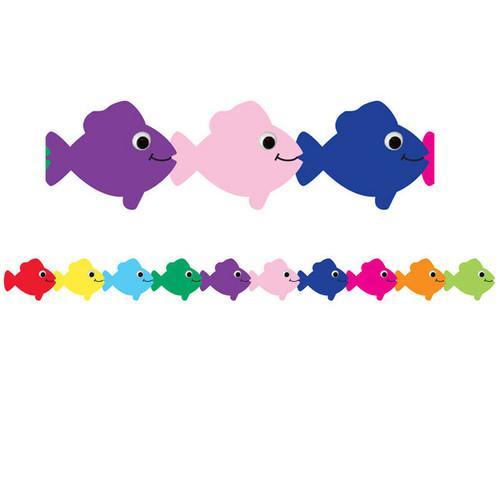 Multicolor Fish Border
