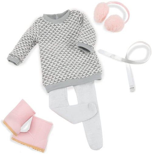 Our Generation Sweater Dress Outfit