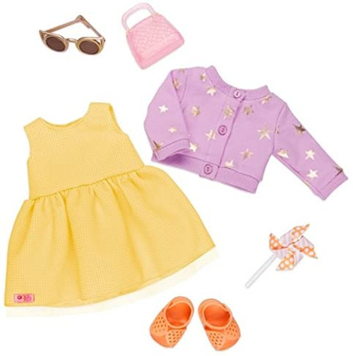 "Our Generation Deluxe Summer Dress Outfit for 18"" Dolls"