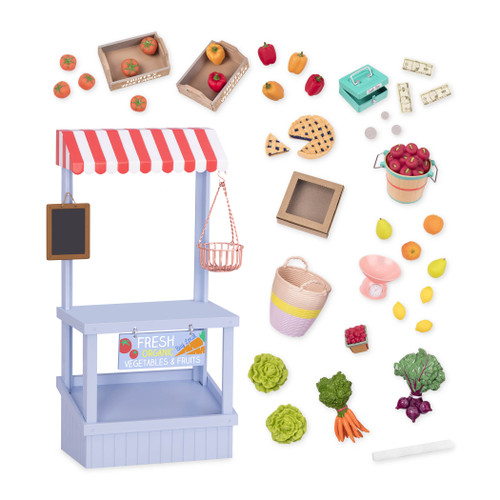 "Our Generation Market Day Playset for 18"" Doll"