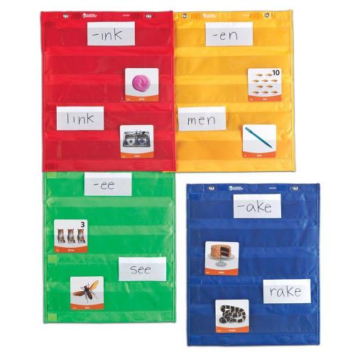 Magnetic Pocket Chart Squares (Set of 4)