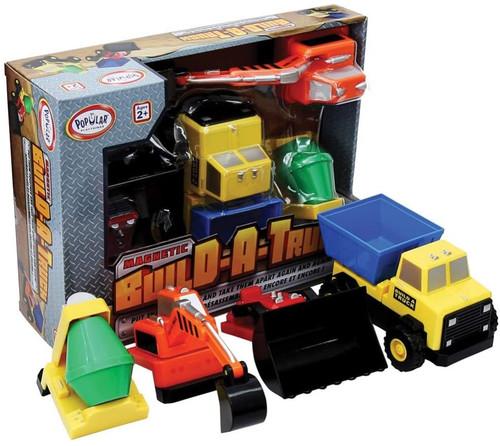 Magnetic Build a Truck Rescue Set