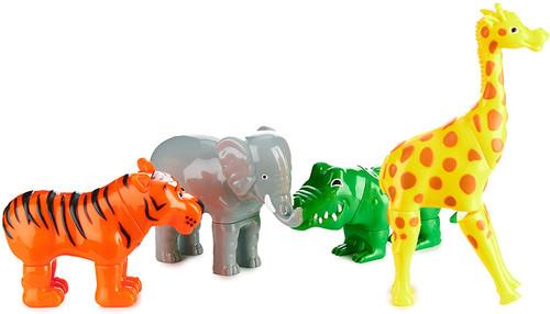 Mix & Match Magnetic Jungle Animals