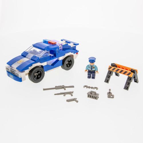 Laser Pegs Policecar