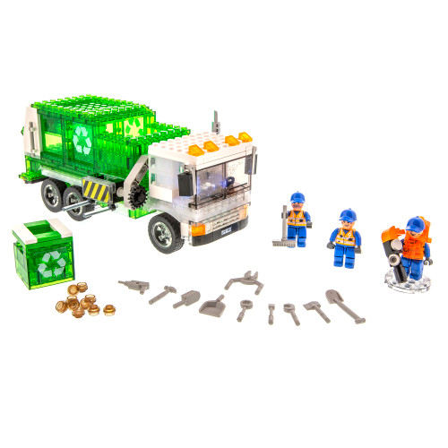 Laser Pegs Recycling Truck