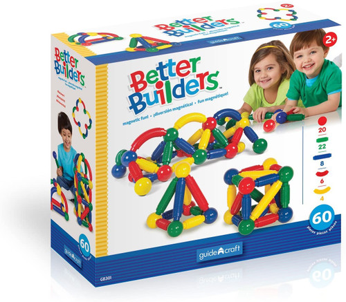 Better Builders 60 Pieces
