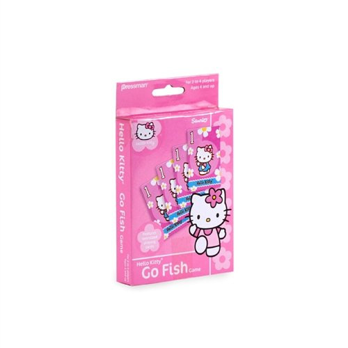 Hello Kitty Go Fish Card Game