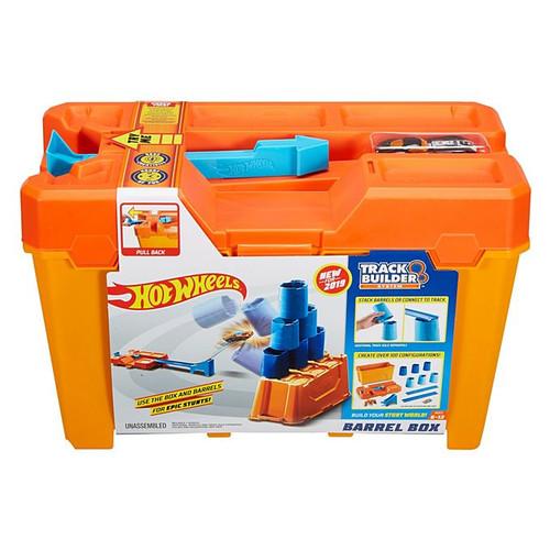 Hot Wheels Trackbuilder Barrel Box