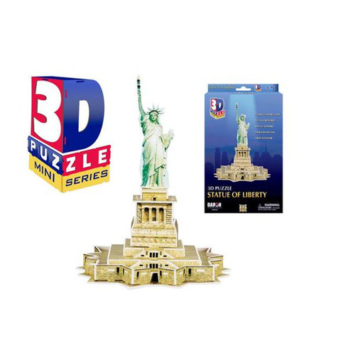Mini Statue of Liberty 3D Puzzle