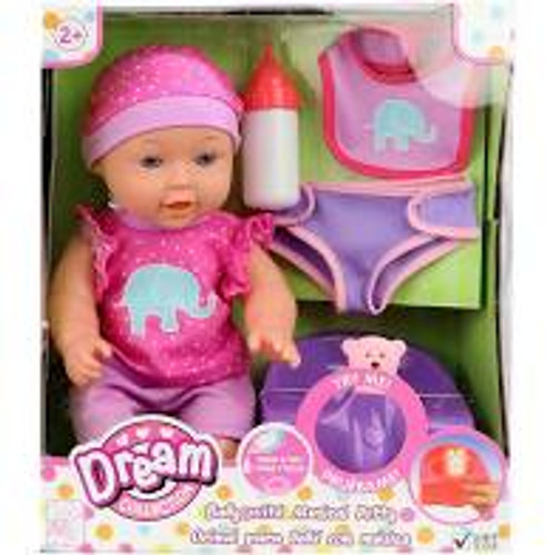 Baby Doll w/ Potty & Accesories