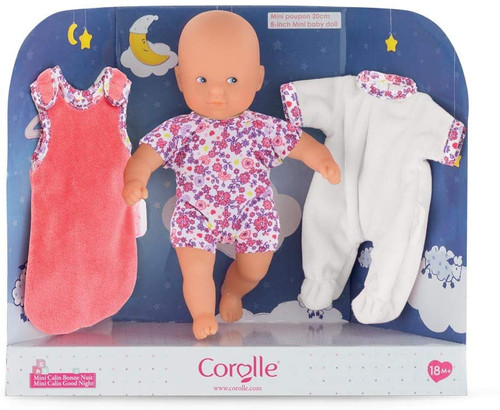 Corolle Goodnight Doll w/ Accesories