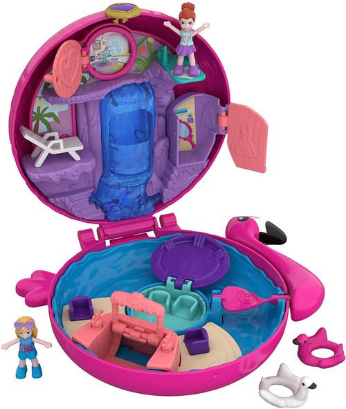 Polly Pocket Big Pocket World Playset Flamingo