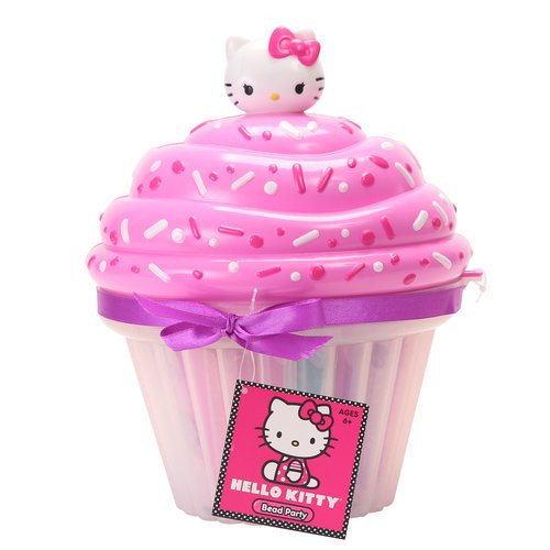 Hello Kitty Cupcake with Beads