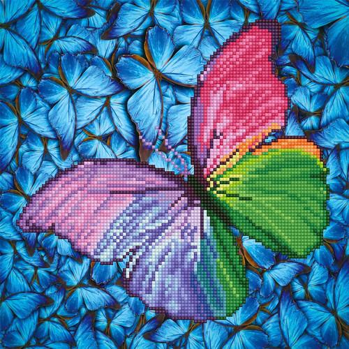Diamond Dotz Butterfly Flutter by Pink