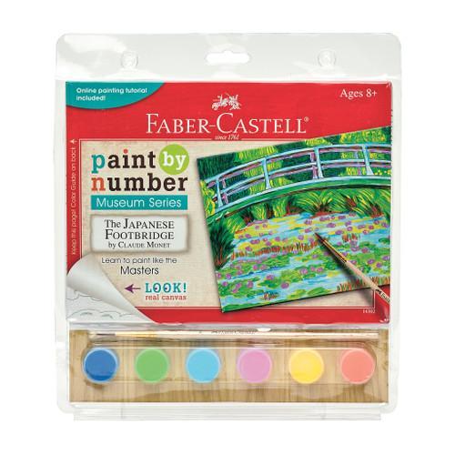 Paint by Number Japanese Footbridge