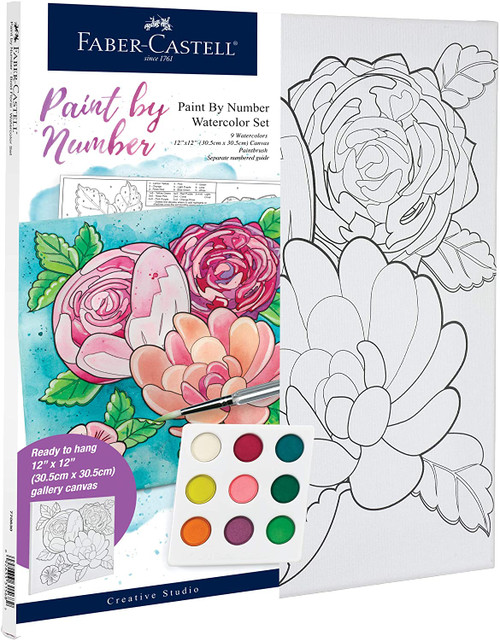 Paint by Number Flowers