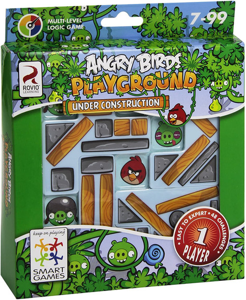 Angry Birds Under Construction Game