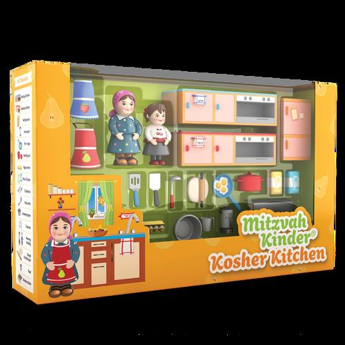 Mitzvah Kinder Kitchen Set