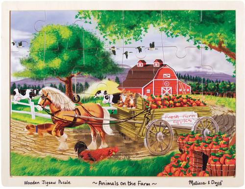 On the Farm Jigsaw Puzzle