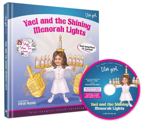 Yael's Chanukah Book-Yael & the Shining Menorah Lights