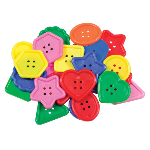 Really Big Buttons-30 Pieces