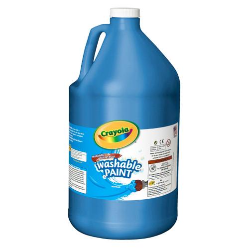 Crayola Washable Paint Gallon Blue