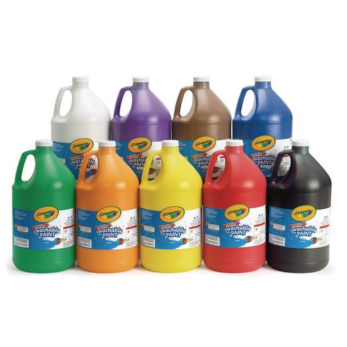 Crayola Washable Paint Gallon Single Colors