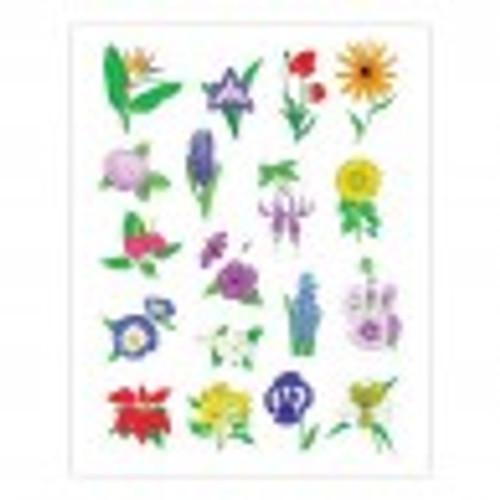 Flower Stickers Classpack