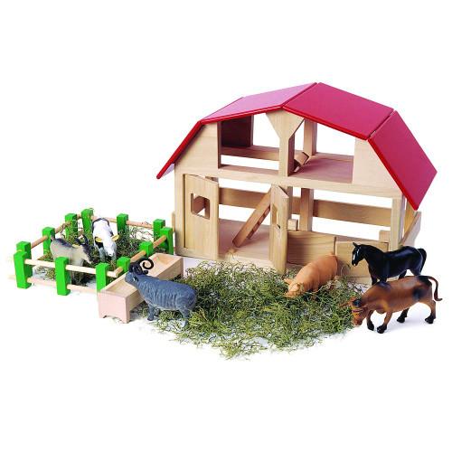 Classic Wooden Barn