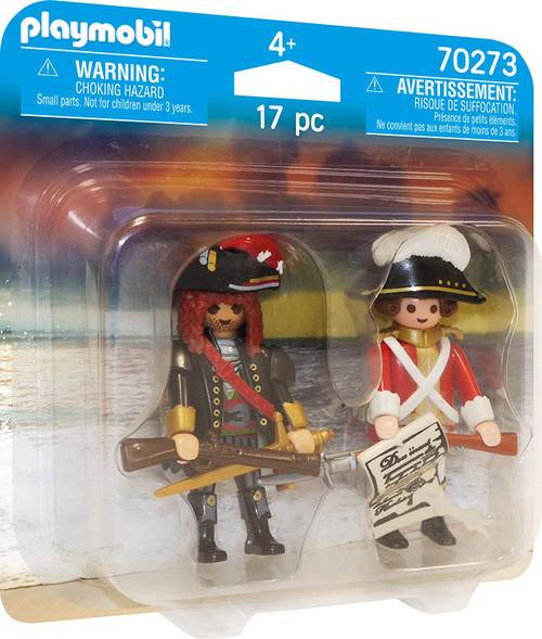 Playmobil Pirate and Redcoat Duo Pack