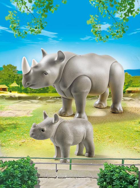 Playmobil Rhinos