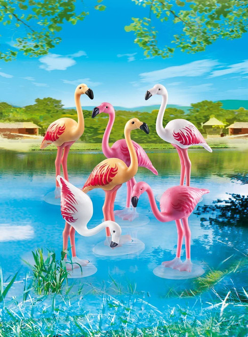 Playmobil Flamingos