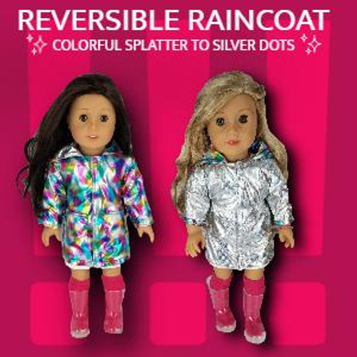 Doll Clothing Raincoat,Dress,Shoes and more
