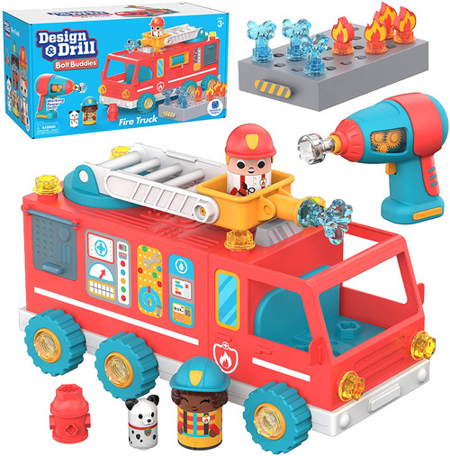 Design & Drill Buddies Fire Truck