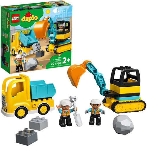 Lego Duplo Truck & Tracked Excavat
