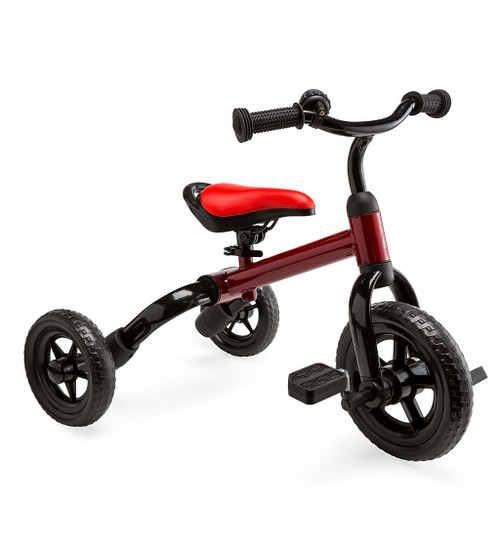 2-in-1 Folding Tricycle and Balance Bike