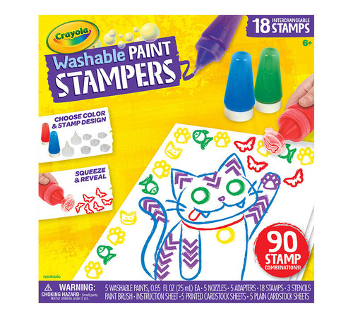 Washable Paint Stampers