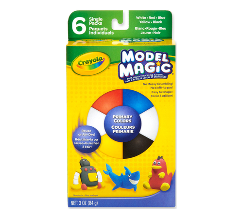 Crayola Model Magic Primary Colors 6 Ct