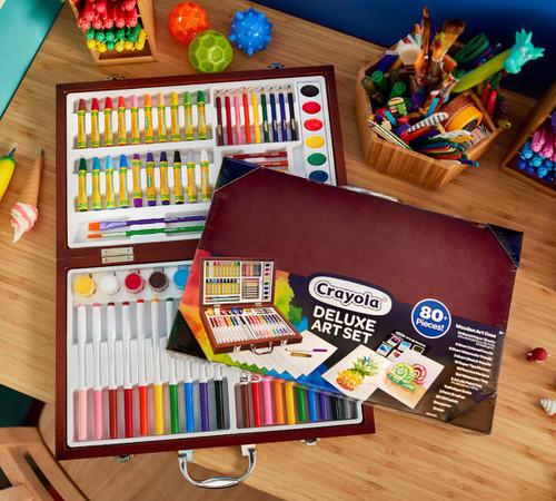 Crayola Deluxe Wooden Art Set