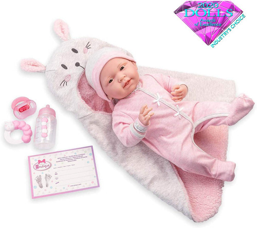 La Newborn Baby Doll Gift Set
