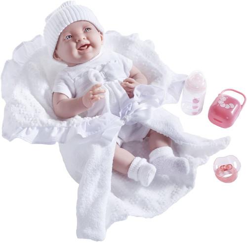 La Newborn in White Bunting