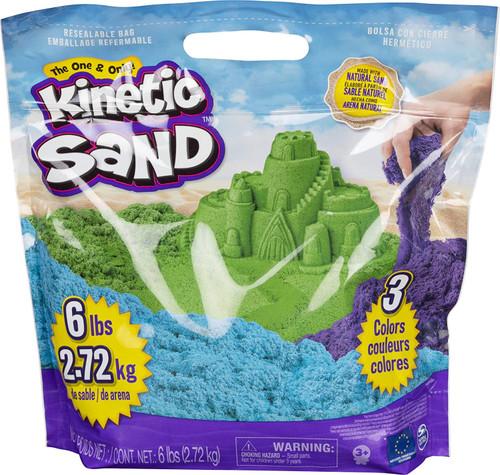 Kinetic Sand 6 LB Bag Colored