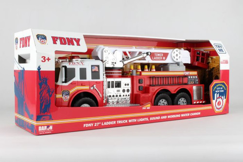 FDNY Fire Truck with Water Hose