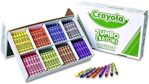 Crayola Classpack Jumbo Crayons 200 Pieces