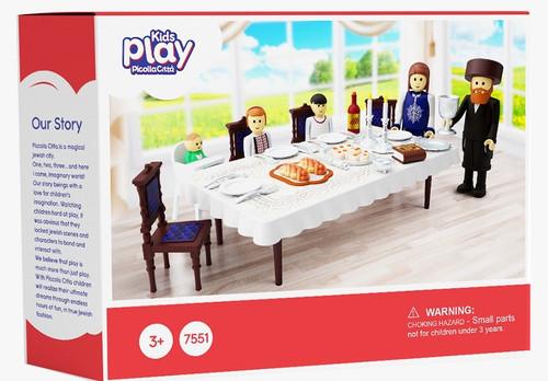 Kids Play Shabbos Seuda Table