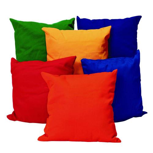 "12"" Bright Pillows Set of 6"