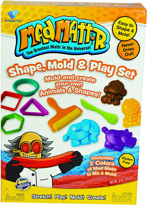 Mad Mattr Shape, Mold & Play Set