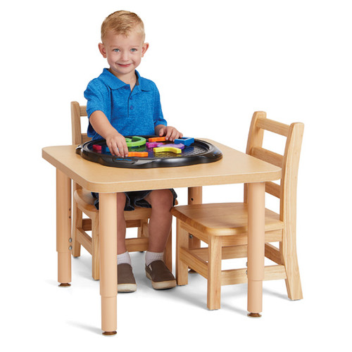 "Jonti Craft Purpose Square Table -24"" x 24"""
