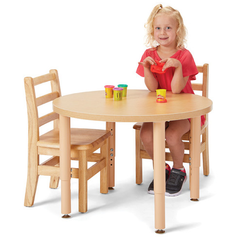 """Jonti Craft Purpose Round Table - 30"""" Diameter"""