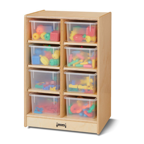 Jonti Craft 8 Cubbie-Tray Mobile Unit